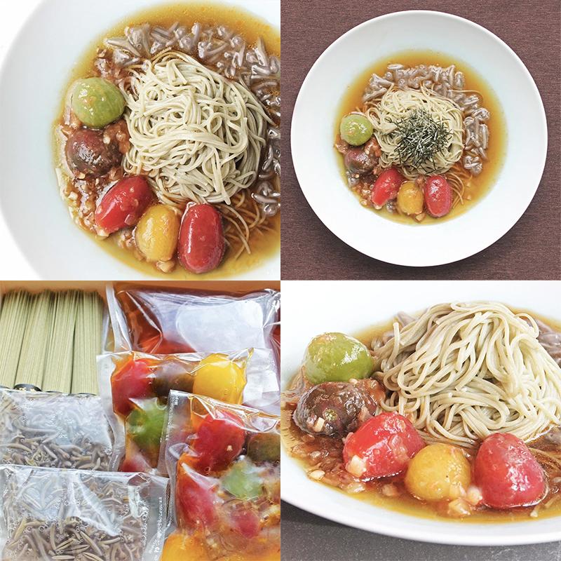 梅トマト風味のモリンガ素麺